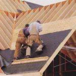 Монтаж гидроизоляционной пленки на крыше